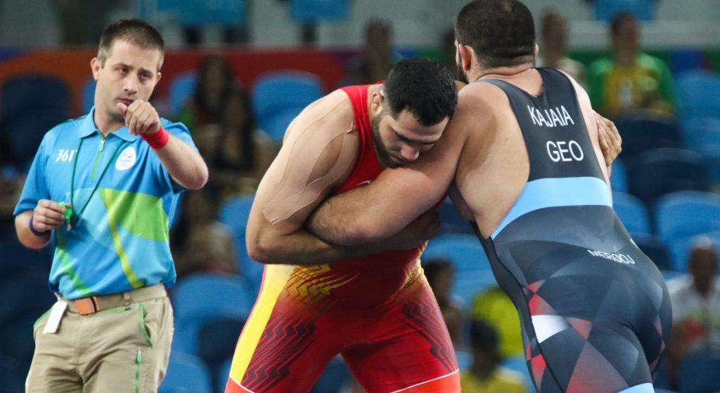 Eduard Soghomonyan - wrestling - até 130kg - Olimpíada de Tóquio 2020 luta olímpica greco-romana