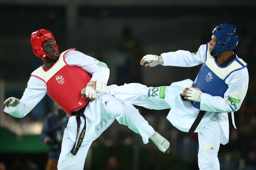 Maicon Siqueira taekwondo