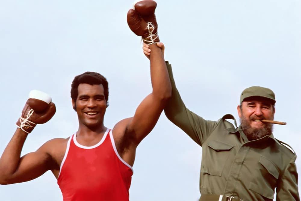 Teofilo Stevenson Fidel Castro
