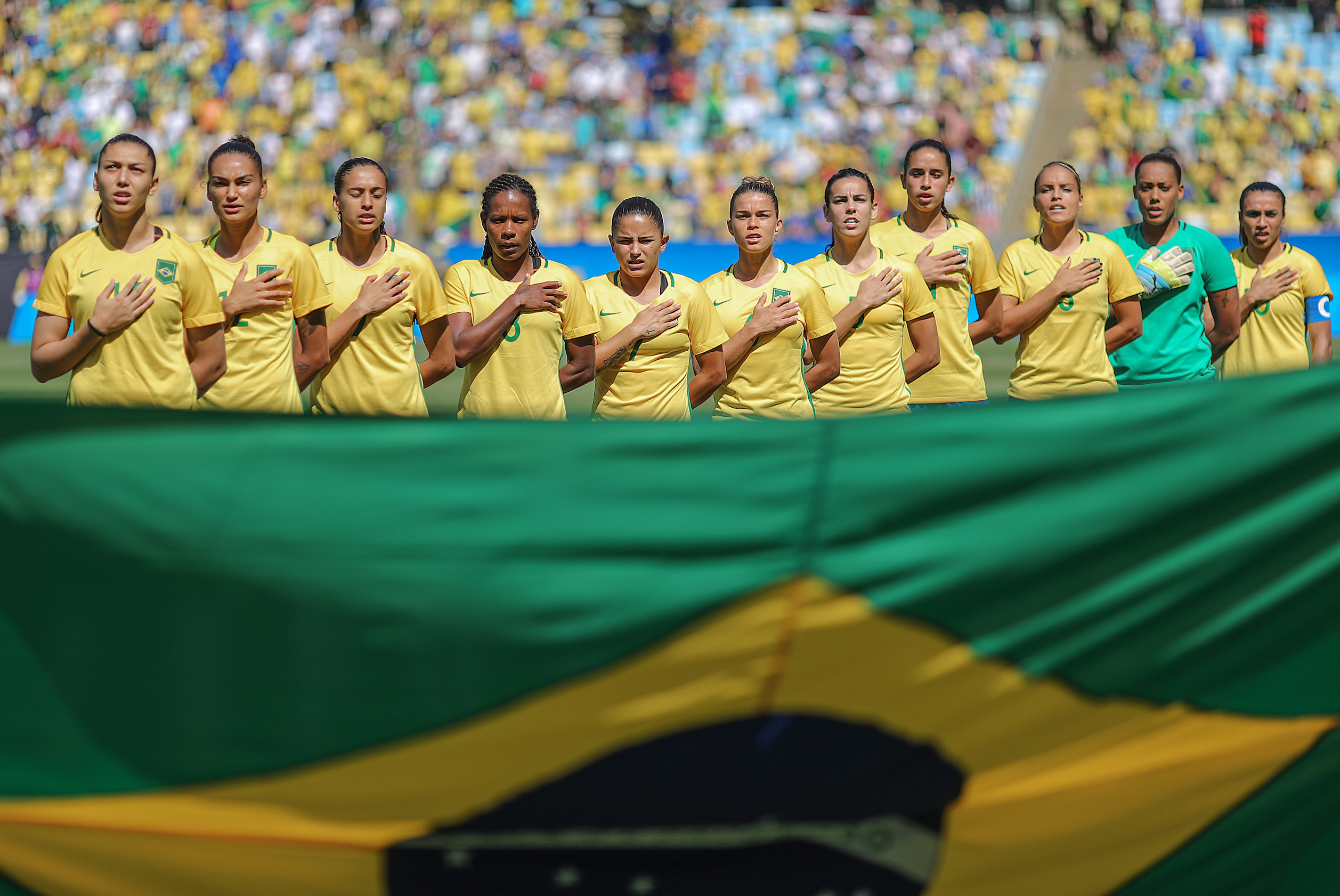 Seleção Brasileira de futebol feminino ficou em quarto na Rio 2016 9401ce97126d8
