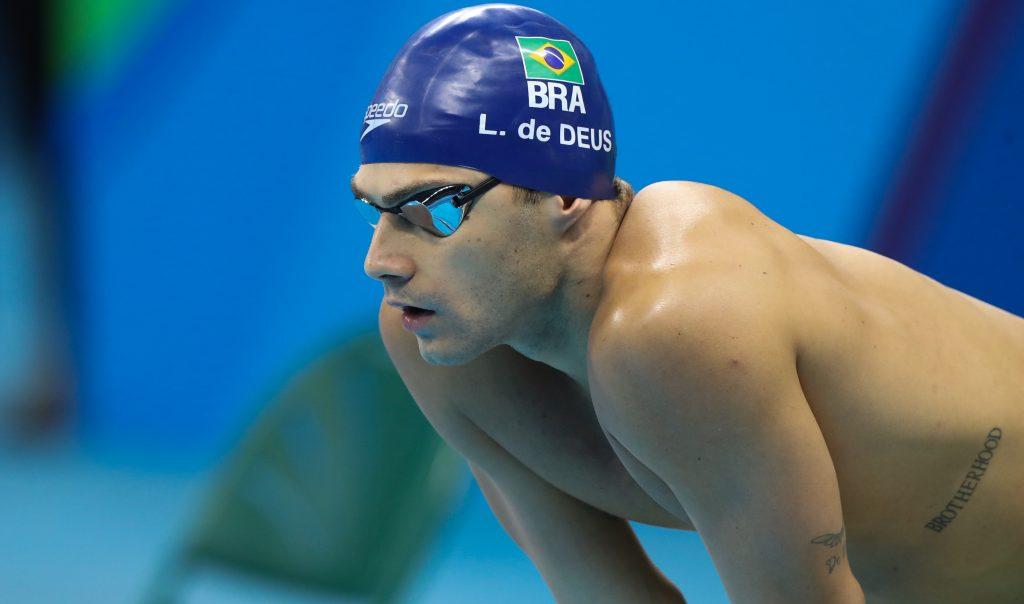 Leonardo de Deus - natação - 200m borboleta - Jogos Olímpicos de Tóquio 2020