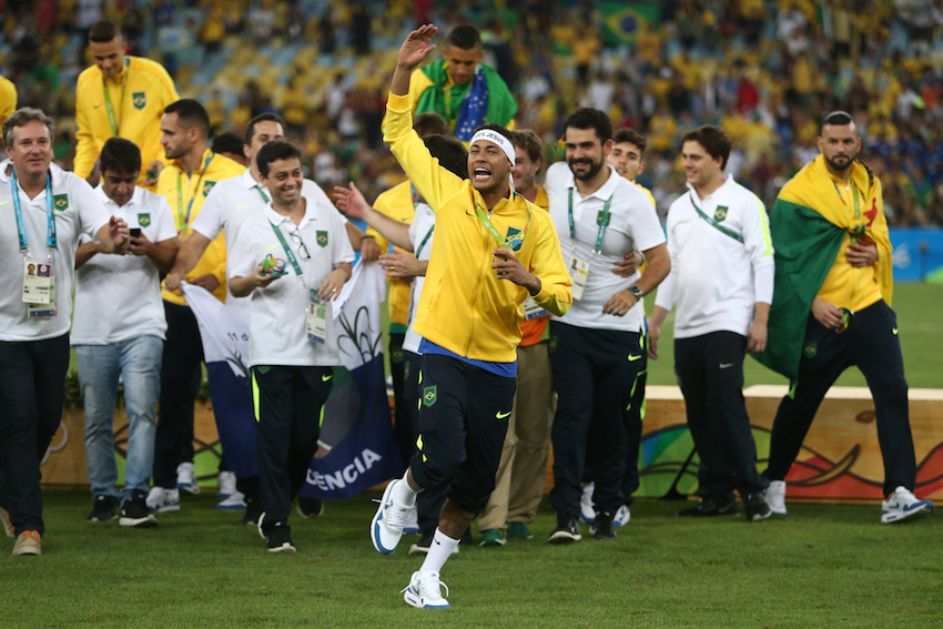 Neymar foi o principal nome da conquista da medalha de ouro do Brasil nos Jogos Olímpicos Rio 2016