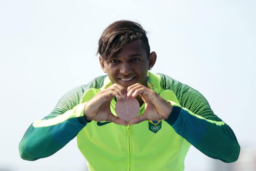 Vivência Olímpica Isaquias Queiros canoagem de velocidade medalha Olimpíada Rio 2016