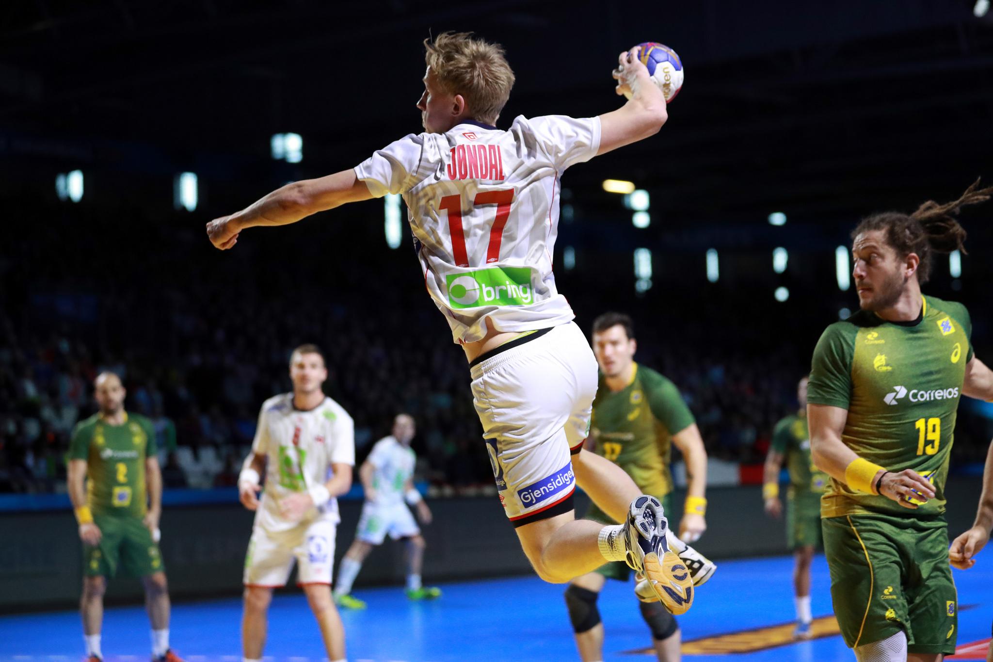 Mundial de handebol masculino - Brasil x Noruega - Pré-olímpico