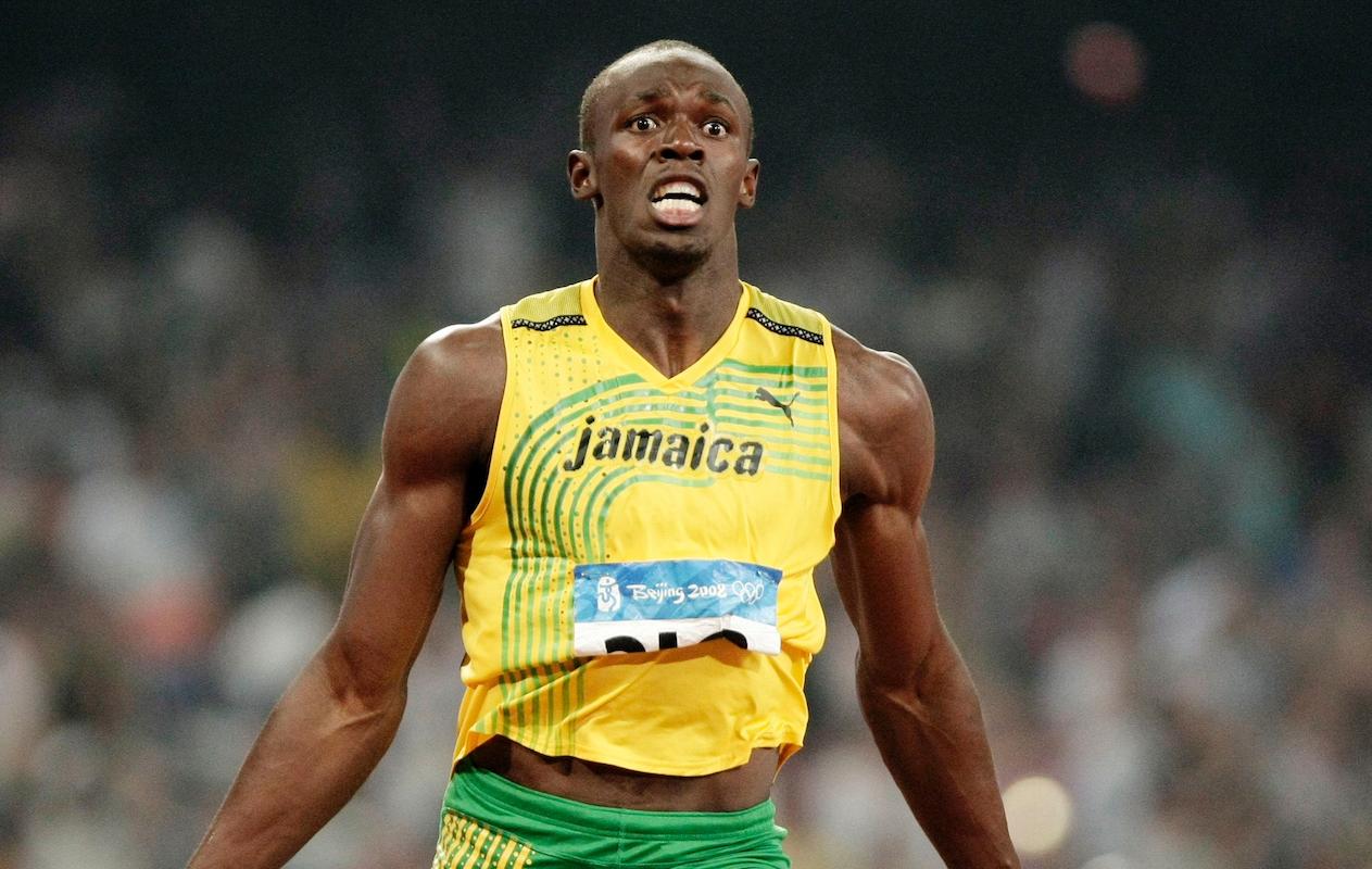 Usain Bolt campeão em Pequim