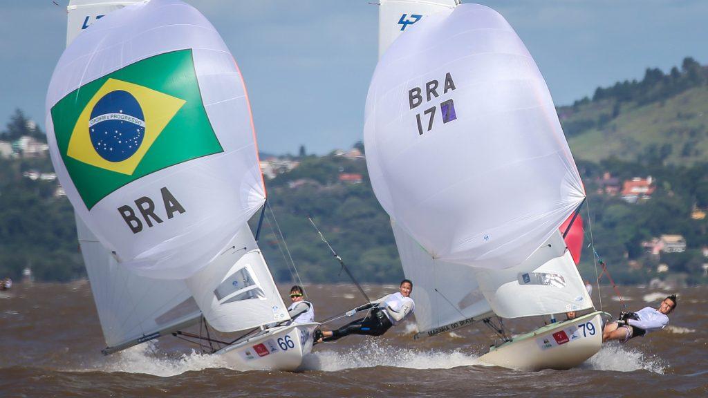 Fernanda Oliveira e Ana Barbachan - vela - classe 470 feminino - Olimpíada de Tóquio 2020