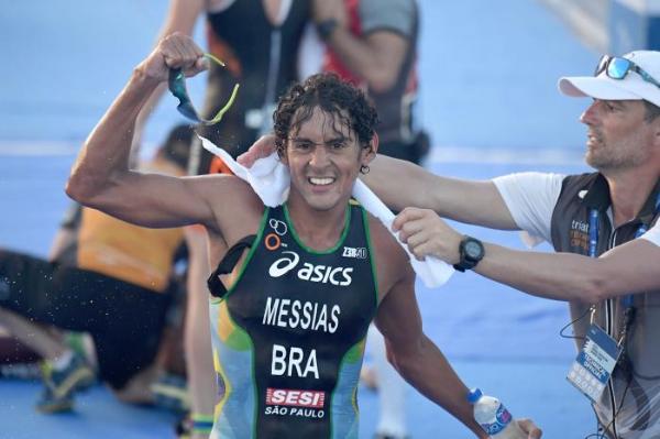 Manoel Messias - triatlo masculino - Jogos Olímpicos de Tóquio 2020