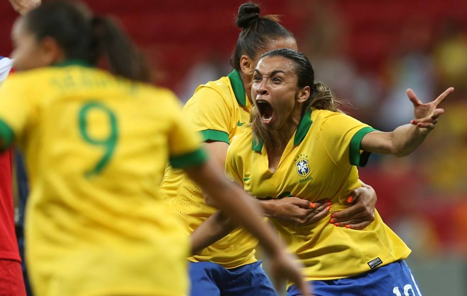 Brasil X Bolívia  Seleção Feminina goleia no primeiro compromisso ... 796ba3790d2d8