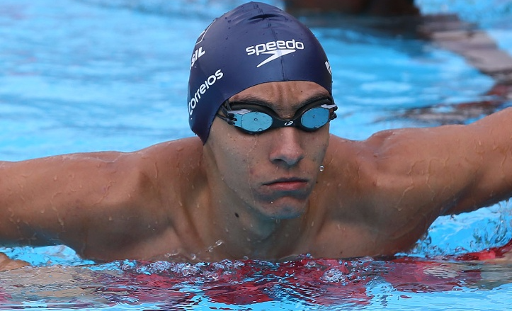 Breno Correia - 200m livre - revezamento 4x100m e 4x200m livre masculino - Olimpíada de Tóquio 2020