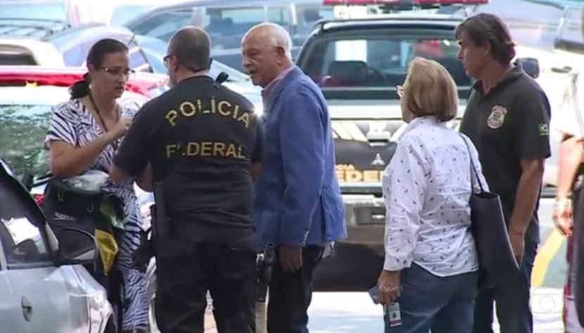 O ex-presidente da CBDa, Coaracy Nunes, morto pelo coronavírus, foi levado preso pelos agentes da Polícia Federal