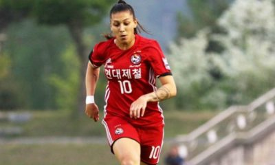 Com gol de Bia Zaneratto, Red Angels vence no Sul-Coreano