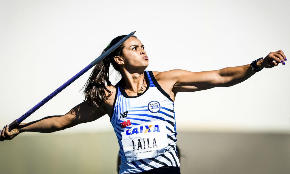 Laila Ferrer - atletismo - lançamento de dardo - Olimpíada de Tóquio 2020