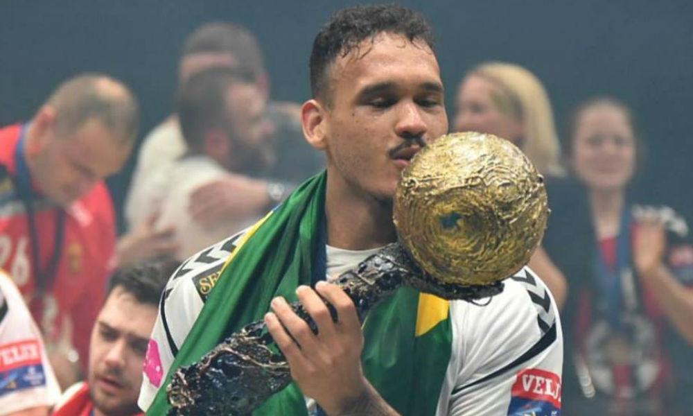 Rogério Moraes - seleção brasileira de handebol masculino - Jogos Olímpicos de Tóquio 2020 Vardar