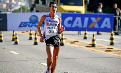 Caio Bonfim marchará ao lado de atletas da Corrida do Tesouro