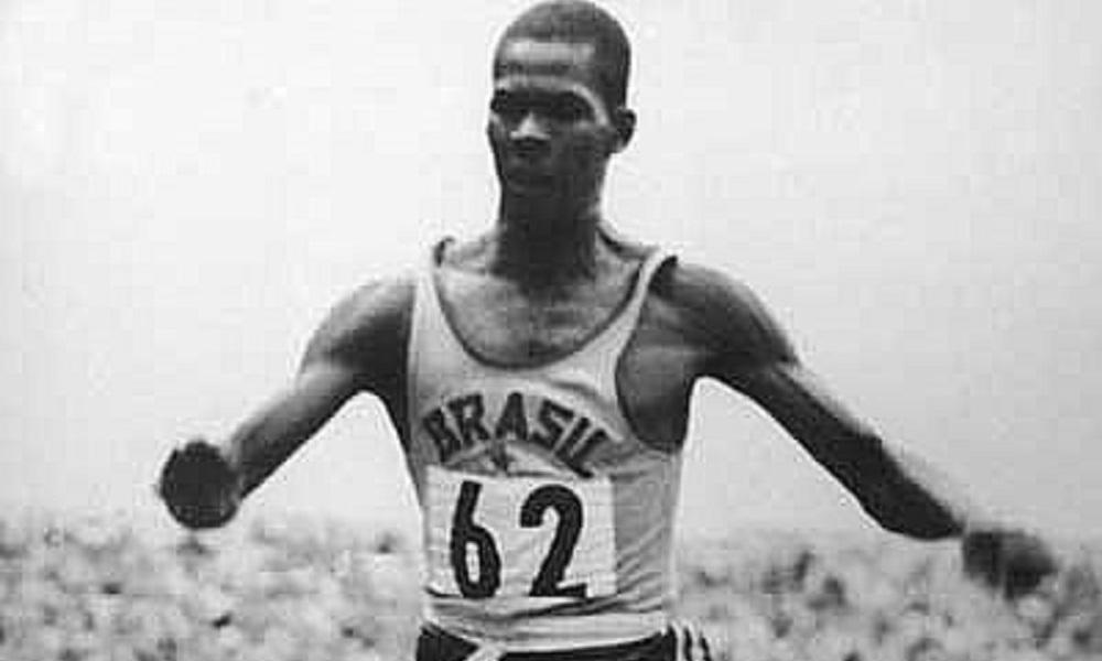 Adhemar Ferreira da Silva Hall da Fama do COB porta-bandeira do Brasil nos Jogos Olímpicos Roma-1960