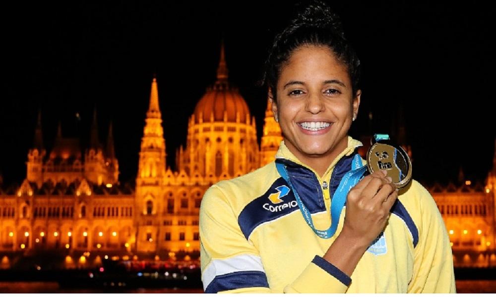 Quadro de medalhas do Mundial de Esportes Aquáticos Etiene Medeiros  revezamento 4x100m livre 50m livre Jogos Olímpicos de Tóquio 2020