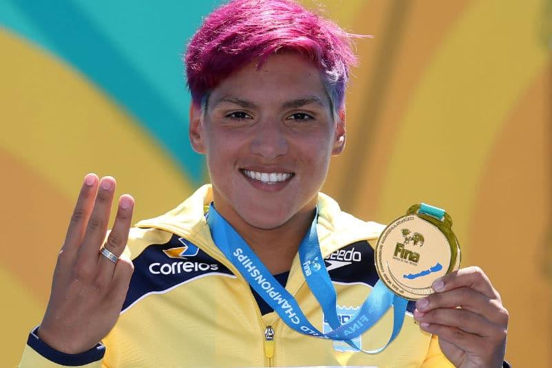 Ana MArcela Cunha maratona aquática Jogos Olímpicos de Tóquio 2020 10km 10 km