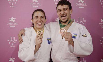 Brasil conquista três medalhas na Universíade. Confira!