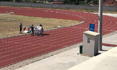 campo de treinos atletismo coronavírus
