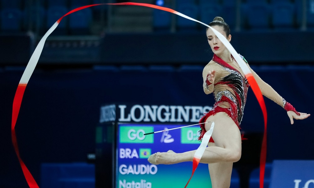 Natália Gáudio sobe para 39ª na classificação geral do Mundial