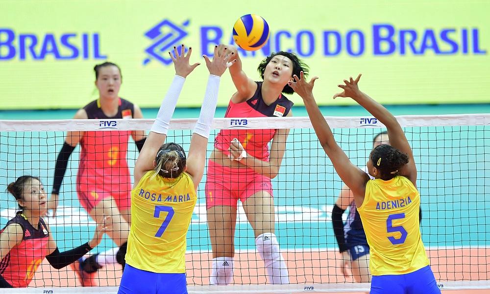 China atropela Brasil na fase final do Grand Prix de Vôlei e0683445a3789