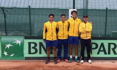 Time Brasil terminou a Davis Cup Junior na 11ª posição.