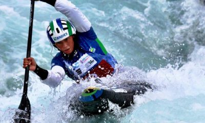 Ana Sátila se classifica no C1, no Mundial de Canoagem Slalom. - categoria k1