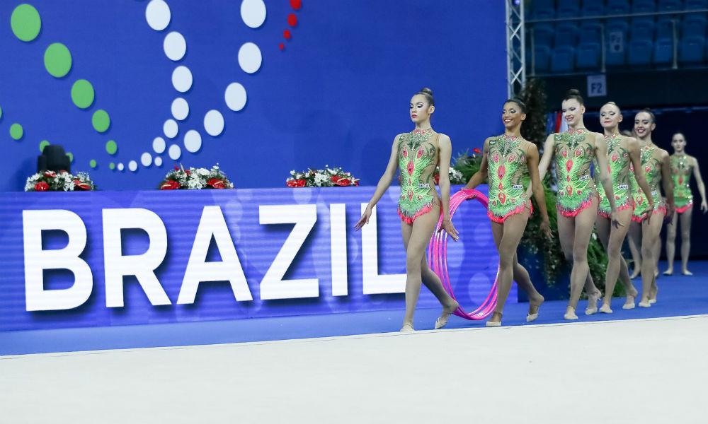 ilustração para Brasileiro de Ginástica Rítmica