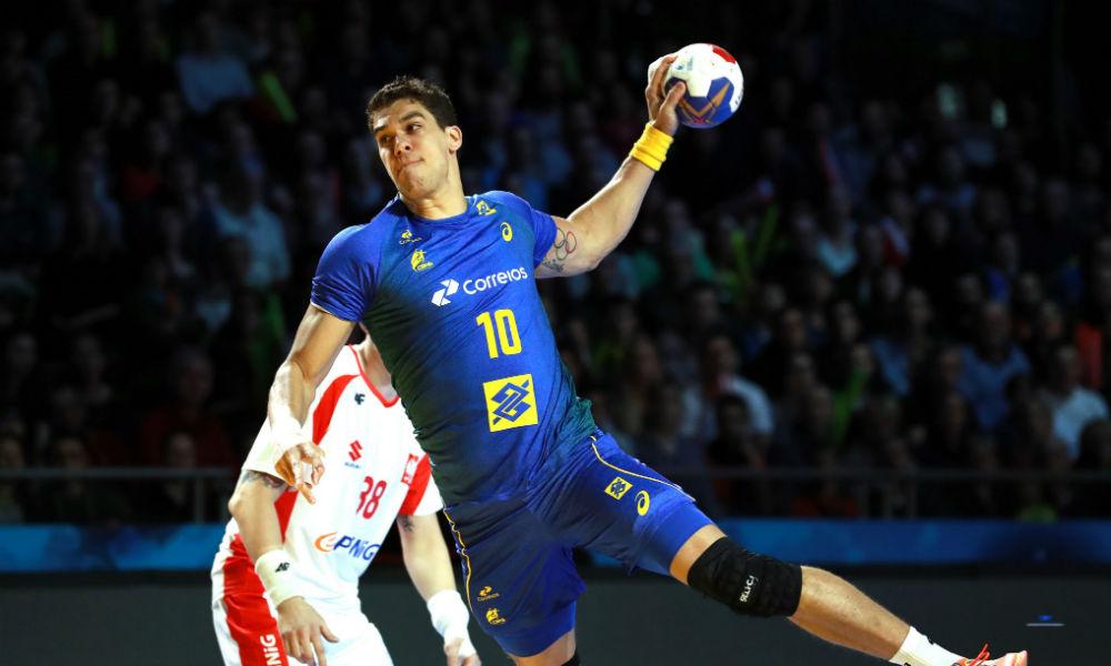 Seleção Brasileira de handebol masculino tem 20