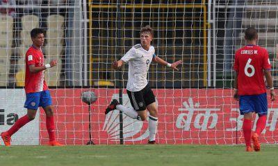 Pelo Grupo C, Alemanha vence Costa Rica no Mundial Sub-17.