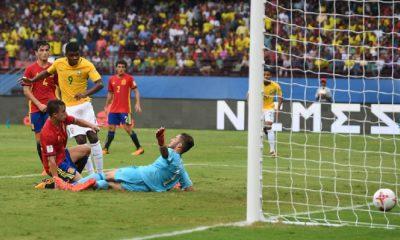 Brasil X Espanha pela Copa do Mundo Sub-17.
