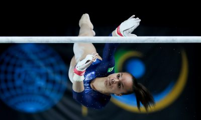 Brasil encerra treinamento de pódio para o Mundial de Ginástica Artística.