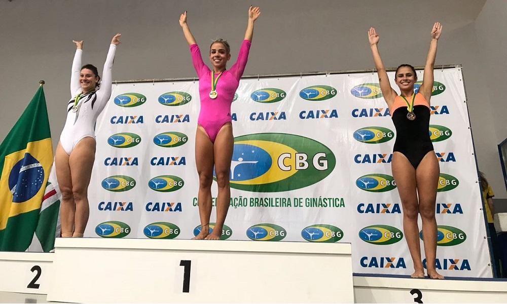 Brasileiro de Ginástica de Trampolim define campeões em Goiânia.
