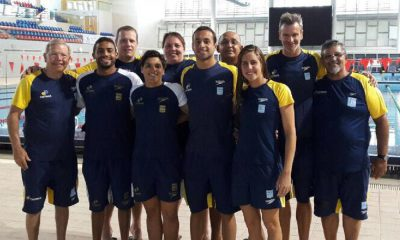 Brasileiros disputam etapas da Ásia de maratona aquática.