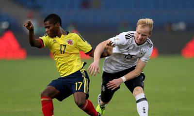Alemanha goleia Colômbia e está nas quartas do Mundial Sub-17.