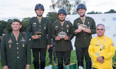 Equipe militar brasileira é vice-campeã no Mundial de Salto.