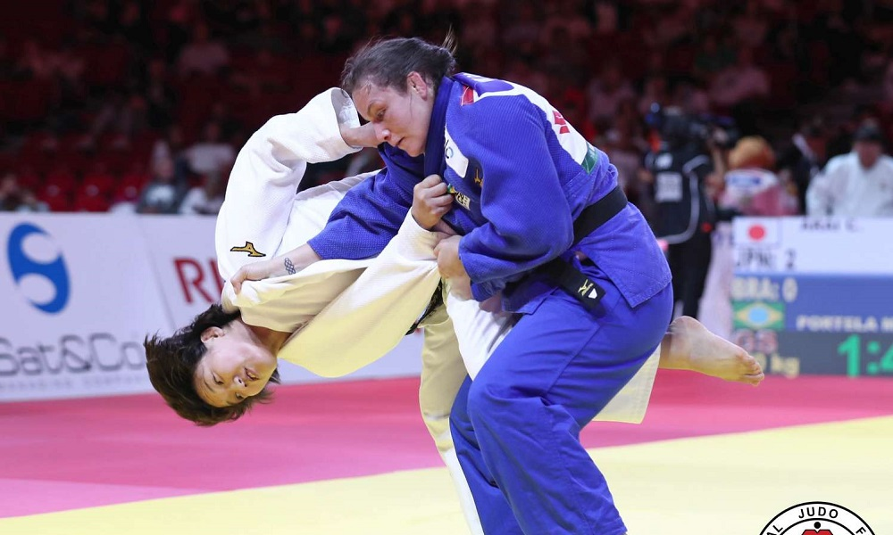 Maria Portela é bronze no 2º dia do Grand Slam de Abu Dhabi.