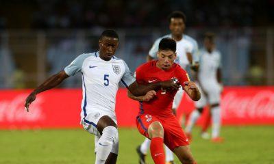 Pelo Grupo F, Inglaterra vence Chile no Mundial Sub-17.