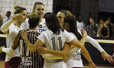 SESC-RJ e Fluminense abrem a final do Campeonato Carioca.
