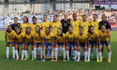 Brasil empata com anfitriã e é campeão de torneio na China.