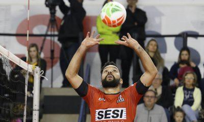 Sesi-SP X Taubaté - Superliga masculina de vôlei 2017/2018