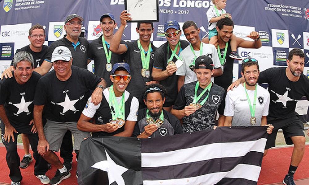 10cb54cad0 Remo  Botafogo é campeão do Brasileiro de Barcos Longos