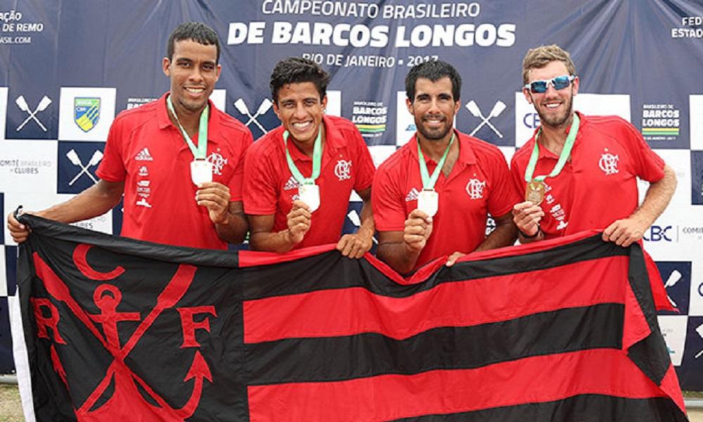 51f440f898 Flamengo foi vice-campeão do Brasileiro de Barcos Longos. Foto  Satiro  Sodré.