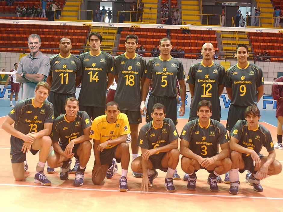 15 anos do Brasil Campeão Mundial de Vôlei