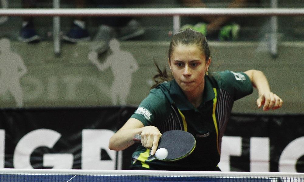 Bruna Takahashi conquista o bronze sub-21 no Aberto da Bélgica.