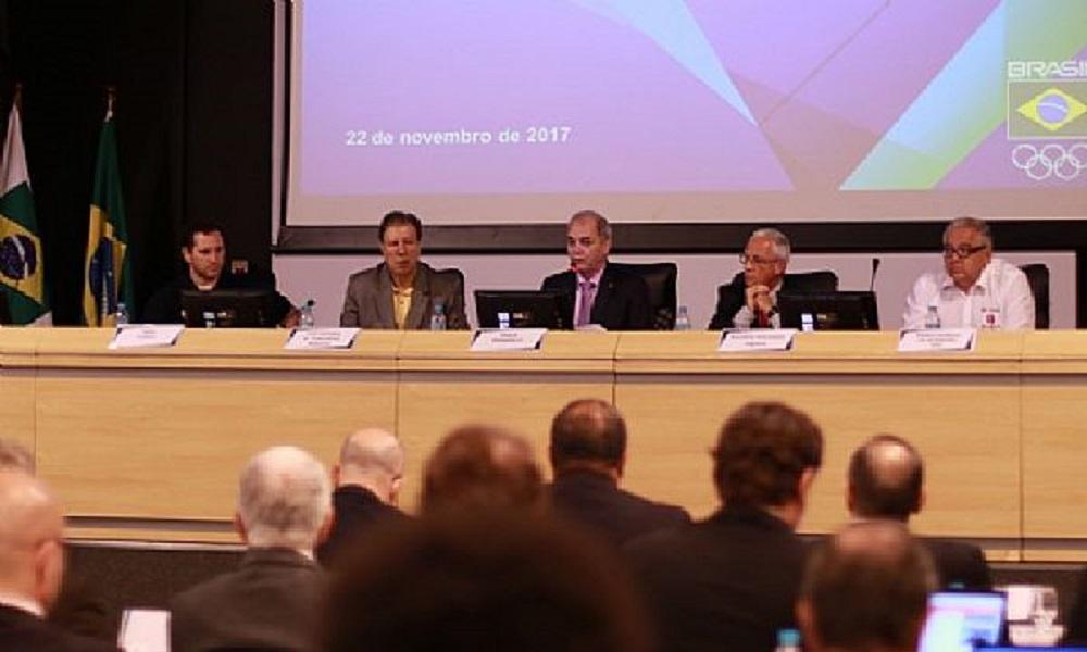 COB muda estatuto em assembleia e revê participação de atletas
