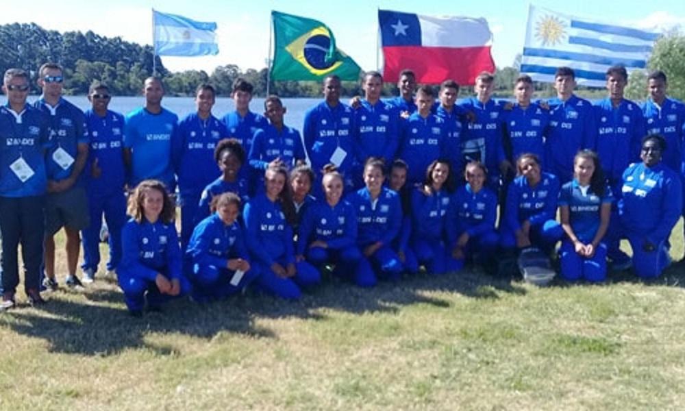 Brasil encerra participação no Sul-Americano de Canoagem Velocidade.