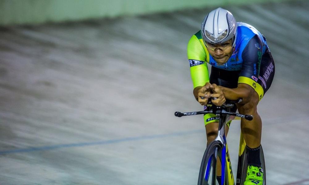 Gideoni Monteiro foi o grande nome do Ciclismo de Pista em 2017
