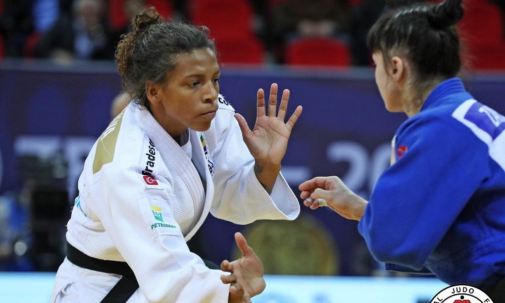 Rafaela Silva busca medalha inédita no Grand Slam de Tóquio