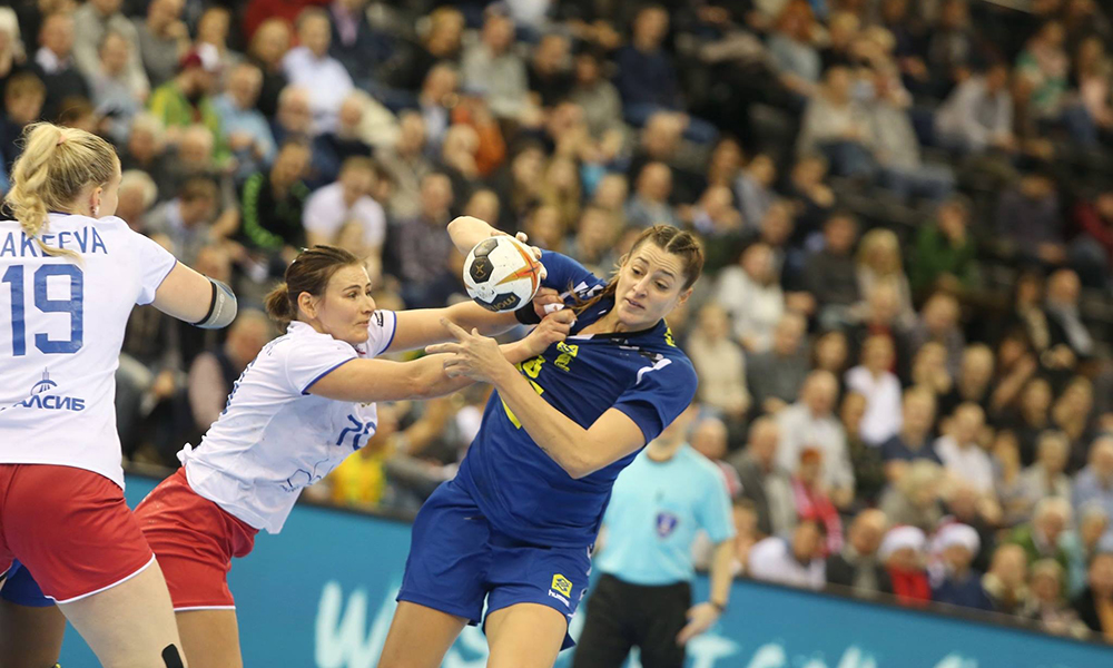 Brasil X Montenegro - Mundial de Handebol feminino